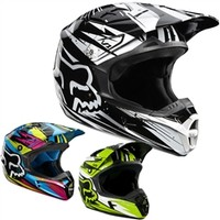 2012 Fox V1 Undertow Motocross Helmets