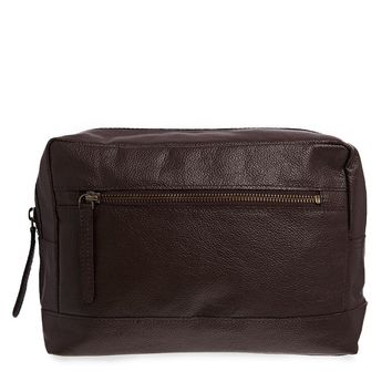 ASOS Leather Wash Bag