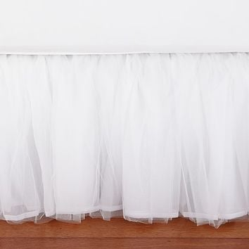 Tulle Bed Skirt