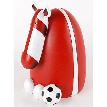 The Biggest Fan (Away) - Limited Edition Hand Painted Resin Sculpture by Peter Smith
