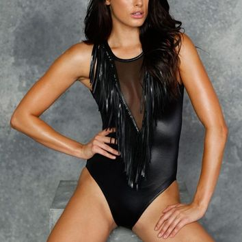 FRINGE BENEFITS BODYSUIT - LIMITED