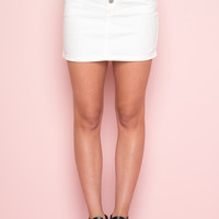 Crosby Denim Skirt - Bottoms - Clothing
