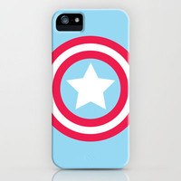 Captain America Pastel iPhone Case by iamdrewbiewan | Society6