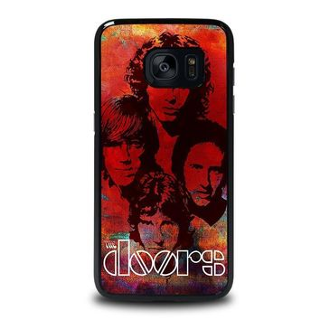 the doors samsung galaxy s7 edge case cover  number 1