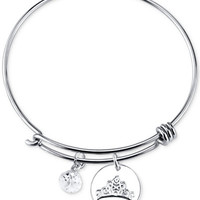Disney Dreams Charm Bangle Bracelet in Sterling Silver - Jewelry & Watches - Macy's