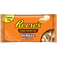 Walmart: Reese's: Cups Peanut Butter White Miniatures Chocolate, 12 Oz