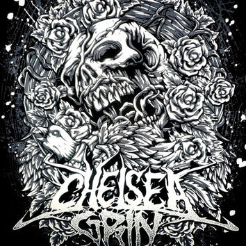 Chelsea Grin Rock Band Music Metal T Shirt Tank Top Singlet Vest Size M - 27 * 20 Inches