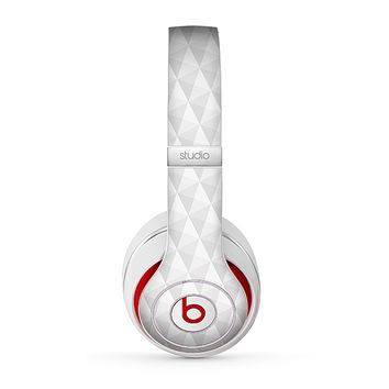 The White Studded Seamless Pattern Skin for the Beats by Dre Studio (2013+ Version) Headphones