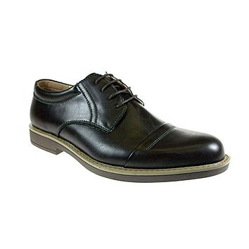 Men's Edison-18 Classic Cap Toe Lace Up Oxford Dress Shoes