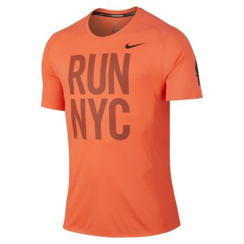 Nike Miler Dri-Fit (2015 Marathon) Men's Running Shirt
