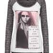 Style Is A Way Of Life Graphic Hacci Tee - Gray