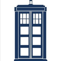 "Doctor Who Tardis Sticker Decal Notebook Car Laptop 8"" (Blue)"