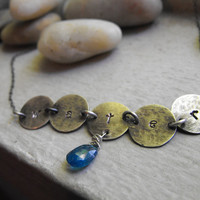 WATER  Pendant, sterling silver pendant