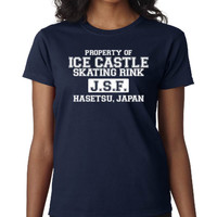 Ice Castle Skating Rink Yuri on Ice T-Shirt