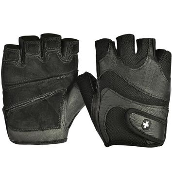 BOODUN Men Women Breathable Gloves Anti-Slip Sports Gloves Half Finger Genuine Leather Weightlifting Gym Fingerless Gloves S-XXL
