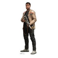 Finn Force Awakens Cardboard Standup