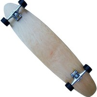 "MOOSE Natural Longboard Complete 9"" x 40"" Kicktail"