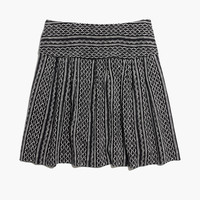 Silk Skyline Skirt in Tidalwave