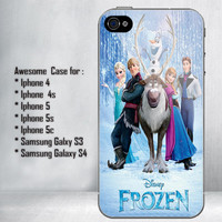 Disney Frozen, Olaf the Snowman for iPhone 4/4S/5/5S/5C and Samsung Galaxy S3/S4