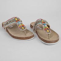Steve Madden Multi Colored Flip
