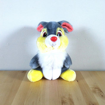 Thumper Disneyland & Disney World Soft Toy {1980s} Vintage Stuffed Animal