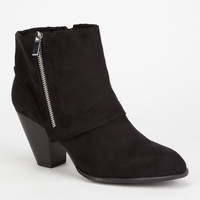 QUPID Salty Womens Booties | Heels & Wedges