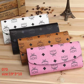 shosouvenir : LV  MCM Women Leather Multicolor Wallet Purse