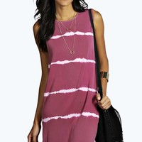 Claire Sleeveless Tie-Dye Dress