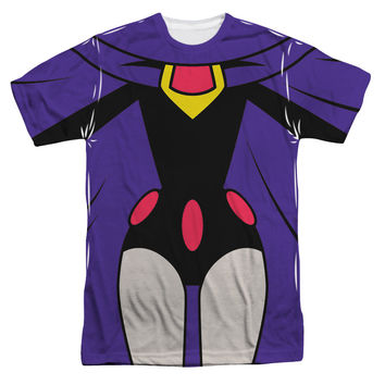 Raven Costume Teen Titans Go! Sublimated Mens T-Shirt