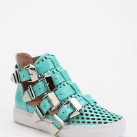 Urban Outfitters - Jeffrey Campbell Indie Buckle High-Top Sneaker