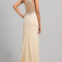 Floor Length One Shoulder Dress