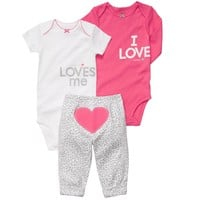3-Piece Pull-On Pant Set