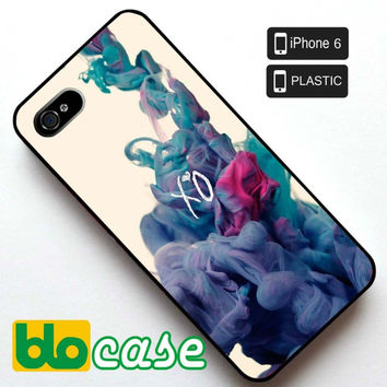 XO The Weeknd Iphone 6 Plastic Case