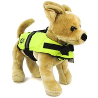 Paws Aboard Doggy Life Jacket - Safety Neon Yellow Dog Life Jackets