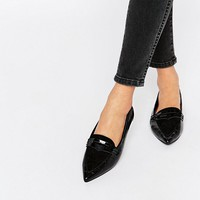 ASOS LAKER Pointed Ballet Flats