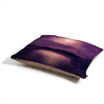 Viviana Gonzalez Purple Sunset Pet Bed