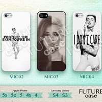 Miley Cyrus iPhone 4s case Idol Star Miley Cyrus iPhone case iphone 4s case iphone 4 case iphone 5c case Hard or Soft Case-Mic02