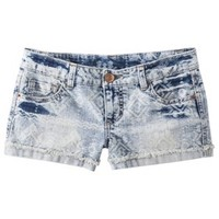 Mossimo Supply Co. Junior's Embroidered Denim Short