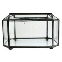 Faceted Glass Display Case | Rain Collection