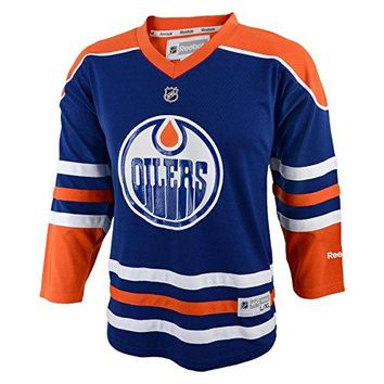 Reebok Edmonton Oilers Youth Replica Home Jersey