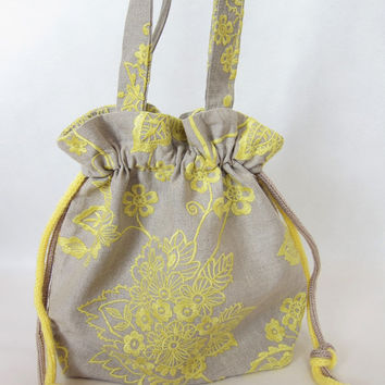 Shop Tote Strap Yellow on Wanelo
