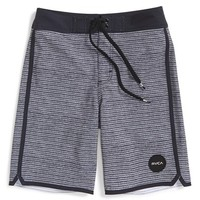 Boy's RVCA 'Traditions' Swim Trunks,