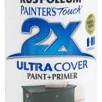 Rust-Oleum® Painter's® Touch 2x Spray Paint, 12 Oz, Satin Hunt Club Green