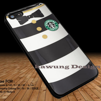 Alice in Wonderland and Starbuck Coffee's Logo DOP23 case/cover for iPhone 4/4s/5/5c/6/6+/6s/6s+ Samsung Galaxy S4/S5/S6/Edge/Edge+ NOTE 3/4/5 #cartoon #anime #alice