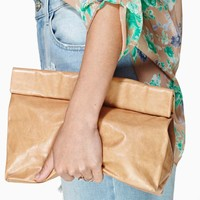 Marie Turnor Leather Lunch Bag