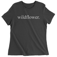 Wildflower Womens T-shirt