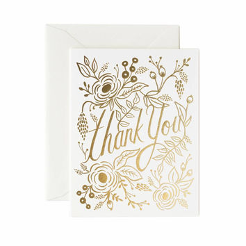 RIFLE PAPER MARION THANK YOU CARD
