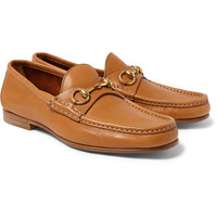 Gucci - Horsebit Leather Loafers | MR PORTER