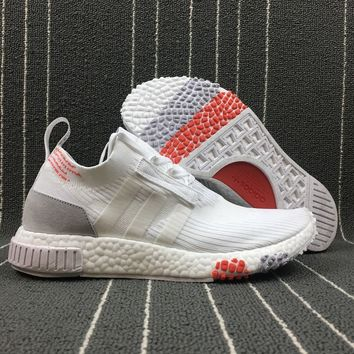 ESBON Adidas Boost Nmd Racer Spring NMD 3 White Women Men Fashion Trending Running Sports Shoes
