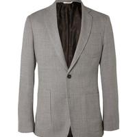 PRODUCT - Billy Reid - Woven Wool and Mohair-Blend Blazer - 394453 | MR PORTER